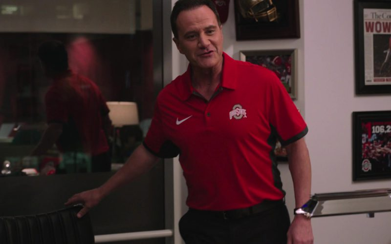 Nike Red Short Sleeve Shirt For Men in Ballers (1)