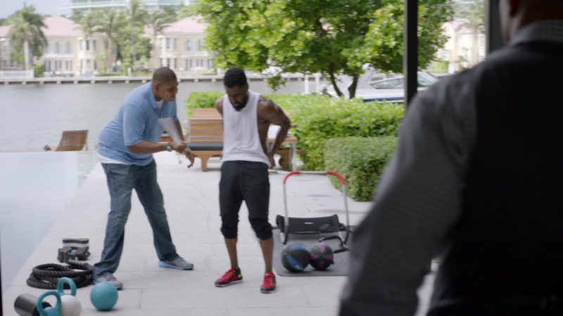 """Nike Shoes Worn by John David Washington (Ricky) in Ballers: Season 2, Episode 2, """"Enter the Temple"""" (2016) TV Show Product Placement"""