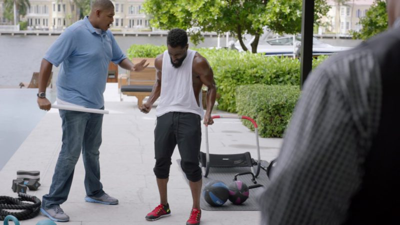 "Nike Shoes Worn by John David Washington (Ricky) in Ballers: Season 2, Episode 2, ""Enter the Temple"" (2016) TV Show Product Placement"