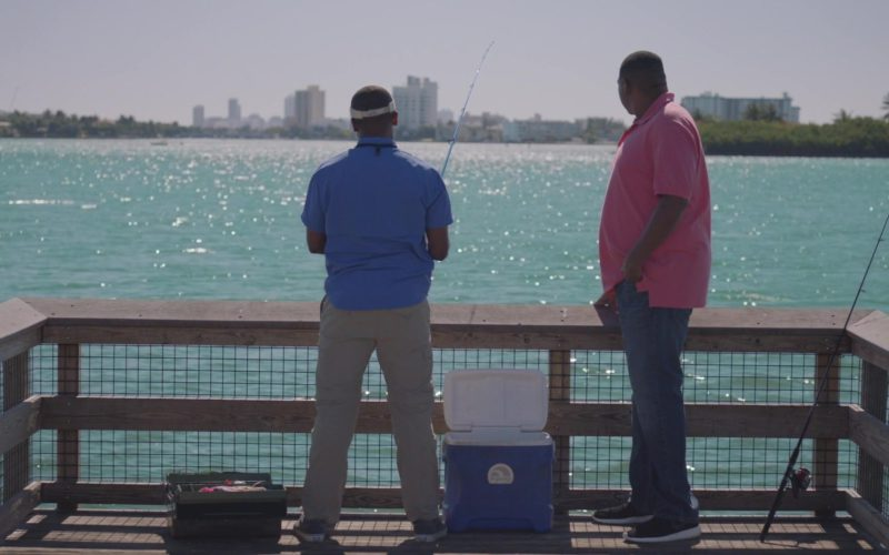 Nike Shoes Worn by Omar Benson Miller and Igloo Cooler in Ballers (1)