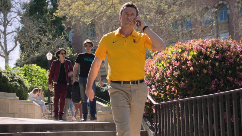 """Nike Yellow Polo Shirt in Ballers: Season 4, Episode 6, """"No Small Talk"""" (2018) - TV Show Product Placement"""