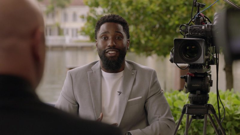 """Panasonic Camera and Sachtler Professional Camera Support Equipment in Ballers: Season 1, Episode 6, """"Everything Is Everything"""" (2015) TV Show Product Placement"""
