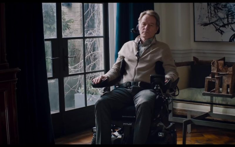 Permobil Electric Wheelchair Used by Bryan Cranston in The Upside
