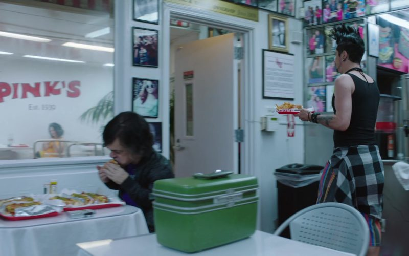 Pink's Hot Dogs Restaurant in My Dinner with Hervé (1)