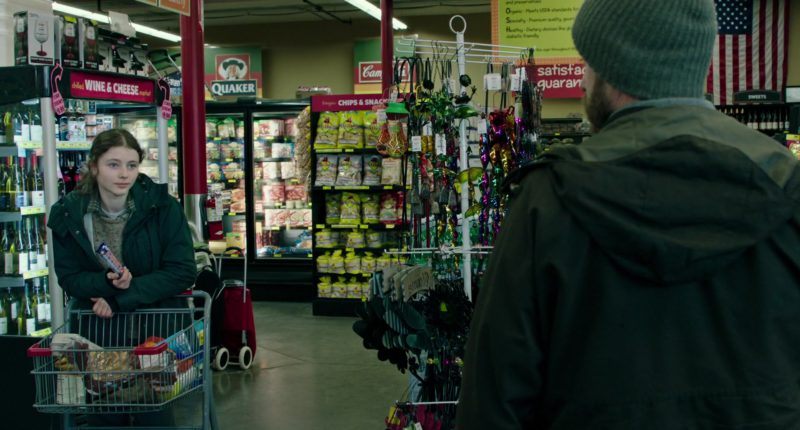 Quaker in Leave No Trace (2018) - Movie Product Placement