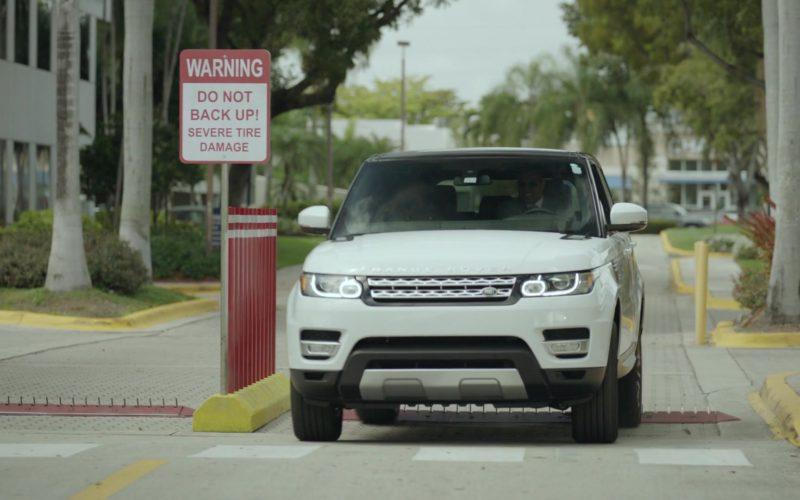 Range Rover Sport (White) Car Driven by Dwayne Johnson (Spencer Strasmore) in Ballers (1)