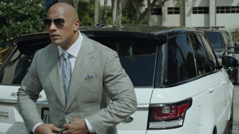 "Range Rover Sport (White) Car Driven by Dwayne Johnson (Spencer Strasmore) in Ballers: Season 1, Episode 9, ""Head-On"" (2015) - TV Show Product Placement"