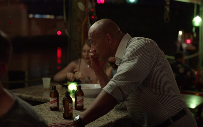 Red Stripe Beer Drunk by Dwayne Johnson in Ballers (1)