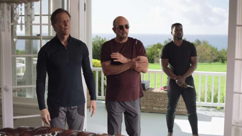 "Reebok T-Shirt For Men in Ballers: Season 4, Episode 9, ""There's No Place Like Home, Baby"" (2018) - TV Show Product Placement"
