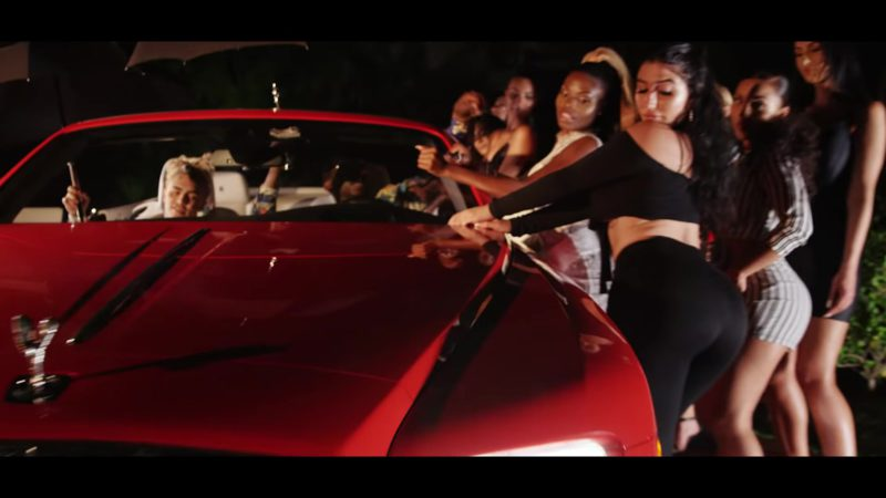 Rolls-Royce Dawn Luxury Vehicle in Kept Back by Gucci Mane feat. Lil Pump (2018) - Official Music Video Product Placement