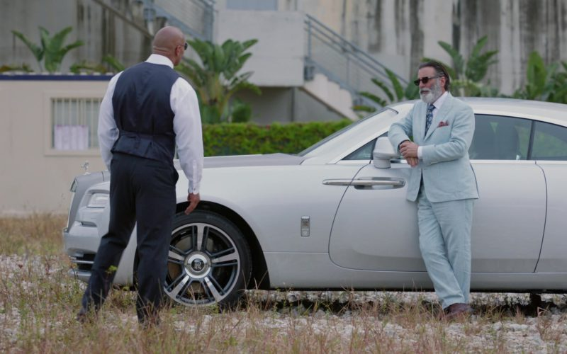 Rolls-Royce Wraith Car Used by Andy Garcia in Ballers (1)