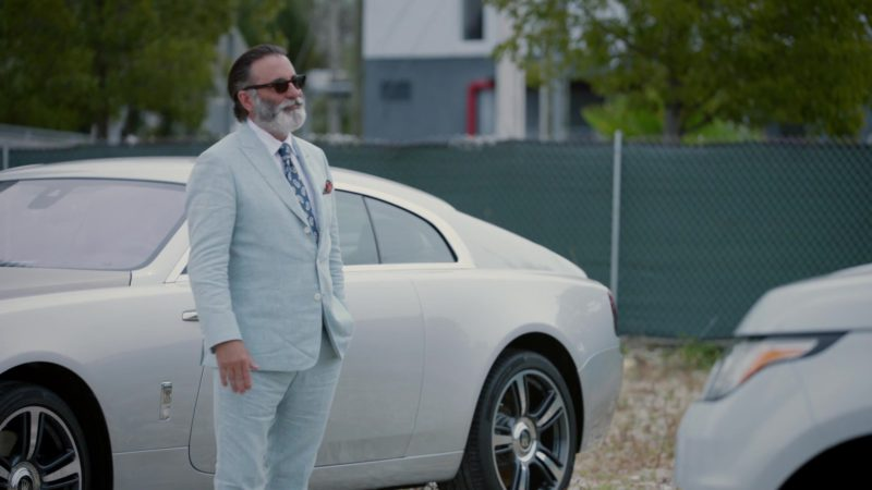 "Rolls-Royce Wraith Car Used by Andy Garcia in Ballers: Season 2, Episode 9, ""Million Bucks in a Bag"" (2016) TV Show Product Placement"