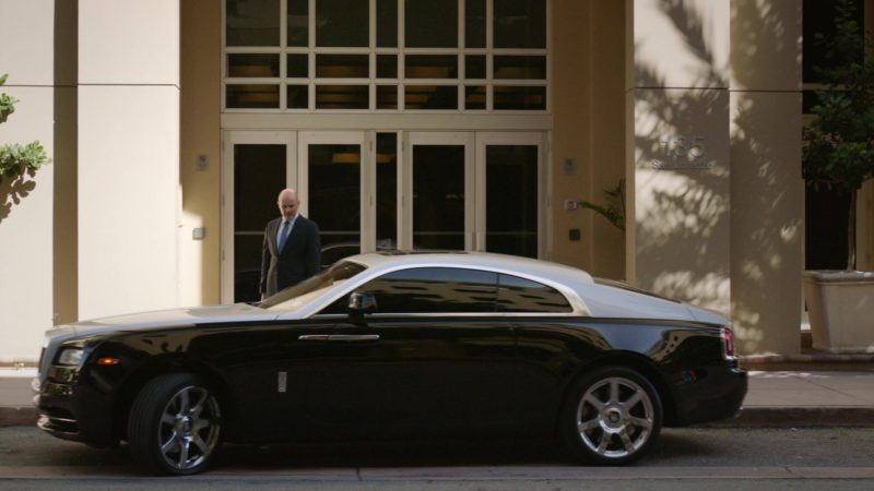 """Rolls-Royce Wraith Luxury Car in Ballers: Season 1, Episode 9, """"Head-On"""" (2015) TV Show Product Placement"""