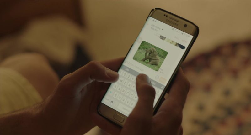Samsung Galaxy Smartphone Used by Noah Centineo in Sierra Burgess Is a Loser (2018) - Movie Product Placement