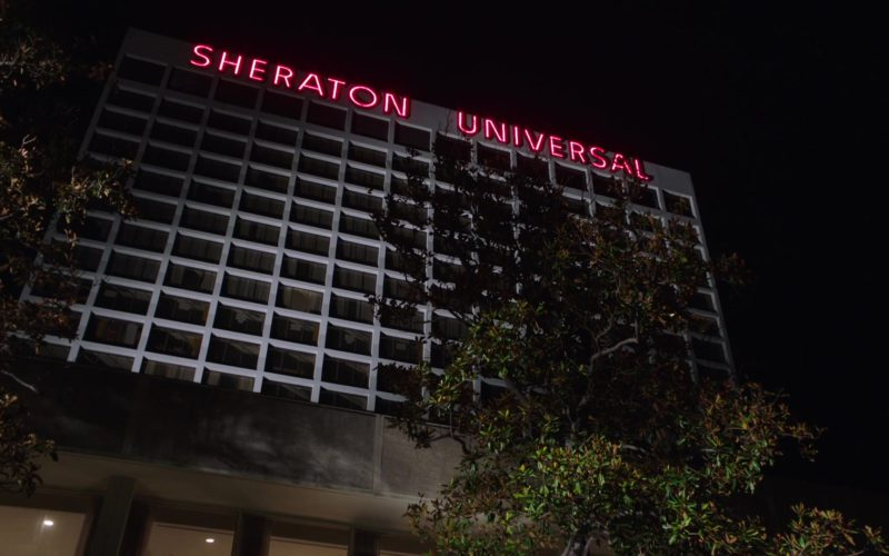 Sheraton Universal Hotel in My Dinner with Hervé