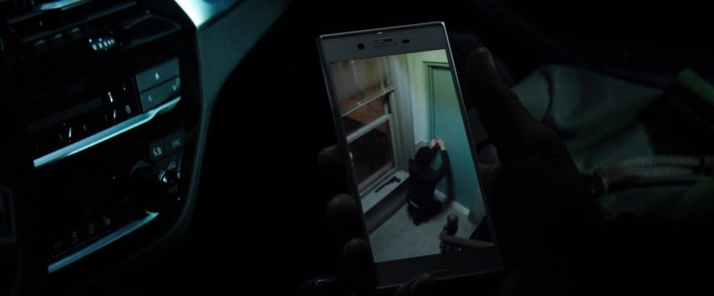 Sony Xperia Smartphones in The Equalizer 2 (2018) Movie