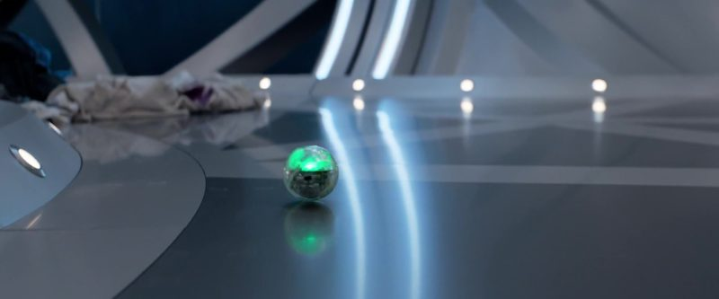 Sphero The App-Controlled Robot Ball Used by Shuya Sophia Cai in The Meg (2018) - Movie Product Placement