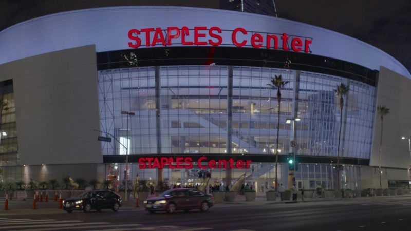 """Staples Center Los Angeles Arena in Happy Together Season 1, Episode 5, """"Like Father, Like Son"""" (2018) - TV Show Product Placement"""