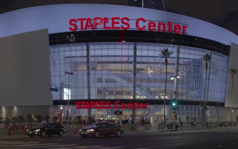 Staples Center Los Angeles Arena in Happy Together Season 1, Episode 5 (1)