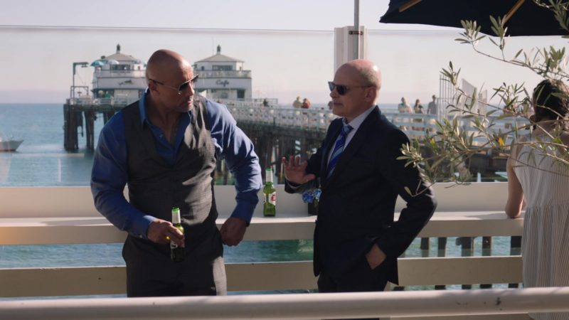 """Stella Artois Beer Drunk by Dwayne Johnson and Rob Corddry in Ballers: Season 4, Episode 4, """"Forgiving Is Living"""" (2018) - TV Show Product Placement"""
