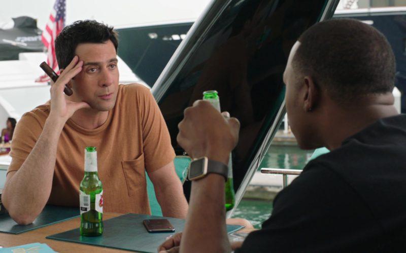 Stella Artois Beer Drunk by Troy Garity in Ballers (1)