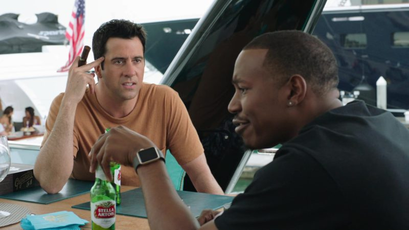 "Stella Artois Beer Drunk by Troy Garity in Ballers: Season 4, Episode 3, ""This Is Not Our World"" (2018) TV Show Product Placement"