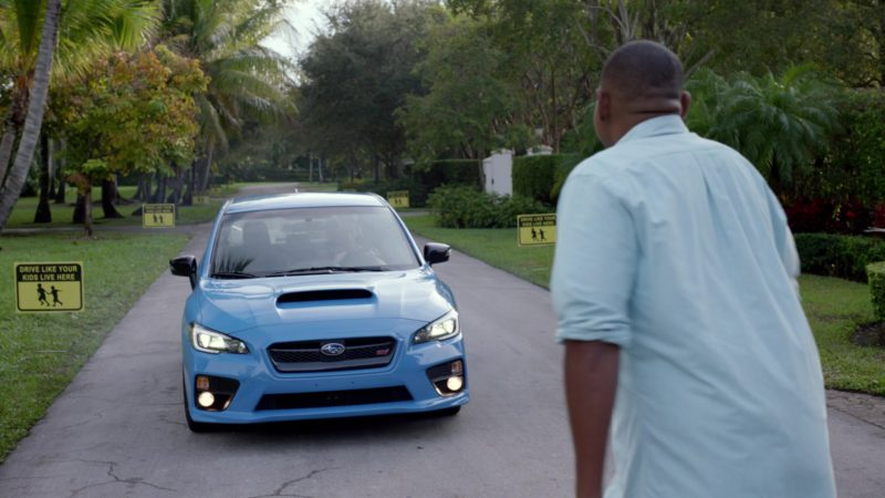 "Subaru STI Blue Car in Ballers: Season 2, Episode 5, ""Most Guys"" (2016) - TV Show Product Placement"