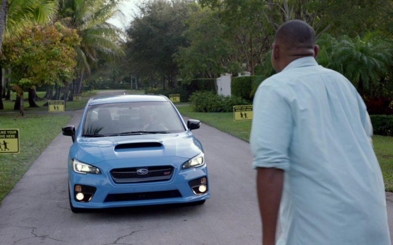 Subaru STI Blue Car in Ballers (1)