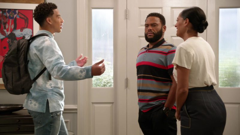 "SwissGear Backpack Used by Marcus Scribner in Black-ish: Season 5, Episode 1, ""Gap Year"" (2018) TV Show Product Placement"