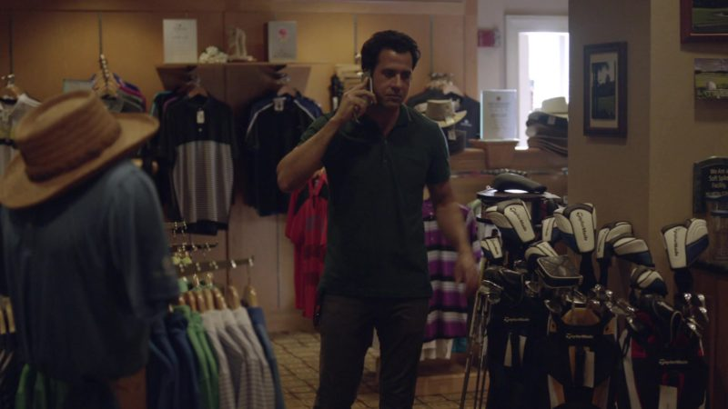"""TaylorMade Golf Clubs in Ballers: Season 1, Episode 4, """"Heads Will Roll"""" (2015) - TV Show Product Placement"""