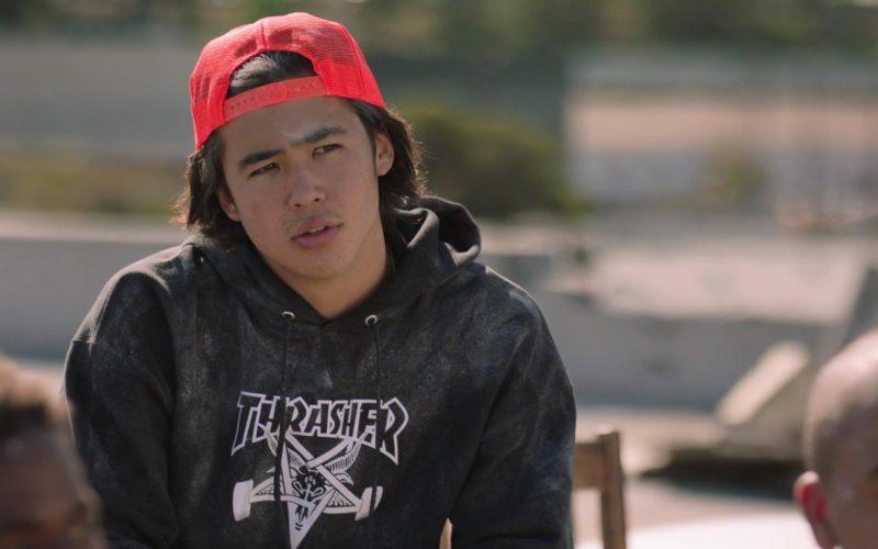 Thrasher Hoodie (Skateboarding Magazine) in Ballers