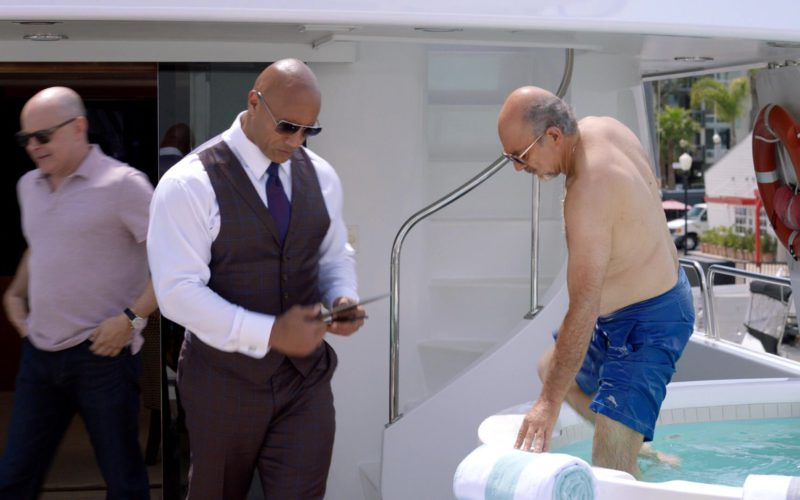 Tommy Bahama Men's Blue Shorts in Ballers (1)