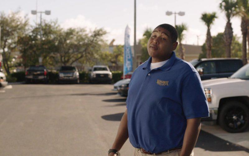 Tropical Chevrolet Polo Shirt (Dealership in Miami Shores, Florida) Worn by Omar Benson Miller (1)