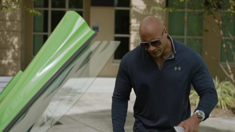 "Under Armour Shirt Worn by Dwayne Johnson in Ballers: Season 2, Episode 3, ""Elidee"" (2016) - TV Show Product Placement"