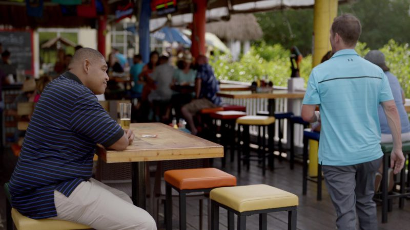 "Under Armour Short Sleeve Shirt in Ballers: Season 2, Episode 2, ""Enter the Temple"" (2016) - TV Show Product Placement"
