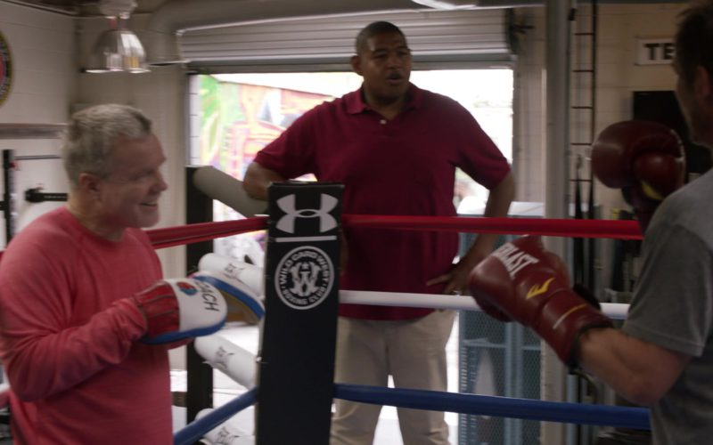 Under Armour and Everlast Boxing Gloves in Ballers (1)