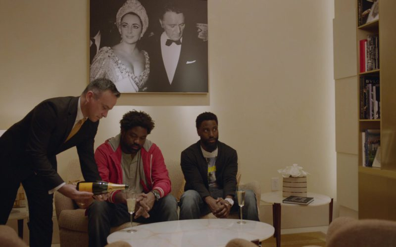 Veuve Clicquot Champagne in Ballers (1)