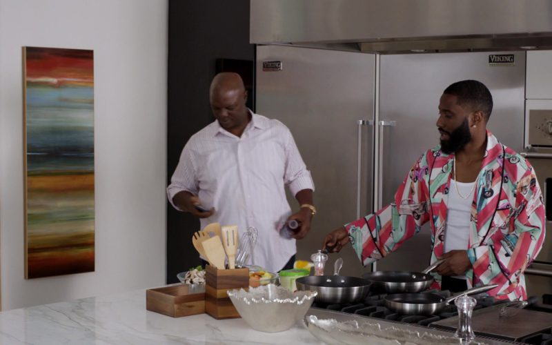Viking Range Refrigerator Used by John David Washington in Ballers (1)