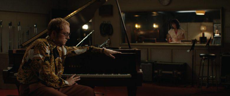 Yamaha Pianos Used by Taron Egerton as Elton John in Rocketman (2019) - Movie Product Placement