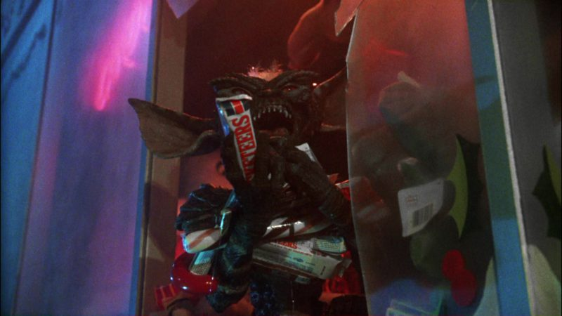 3 Musketeers Chocolate Bars in Gremlins (1984) Movie Product Placement