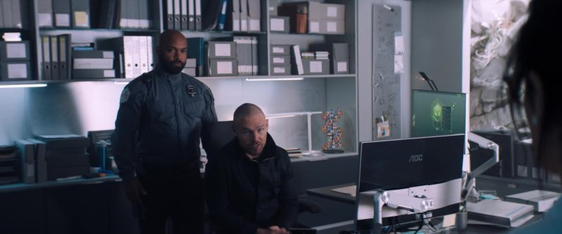 AOC Monitors in Venom (2018) Movie Product Placement