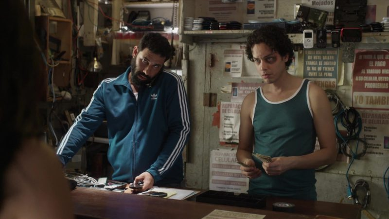 """Adidas Blue Jacket For Men in StartUp: Season 3 Episode 3 """"Guerilla"""" (2018) TV Show Product Placement"""