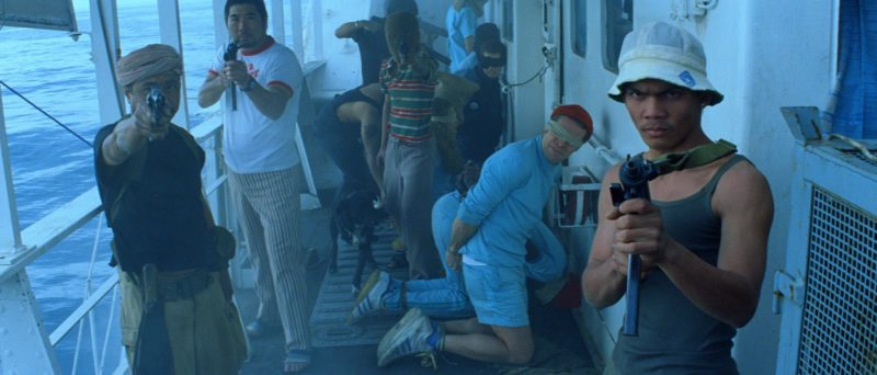 Adidas Sneakers Worn by Willem Dafoe in The Life Aquatic with Steve Zissou (2004) Movie Product Placement
