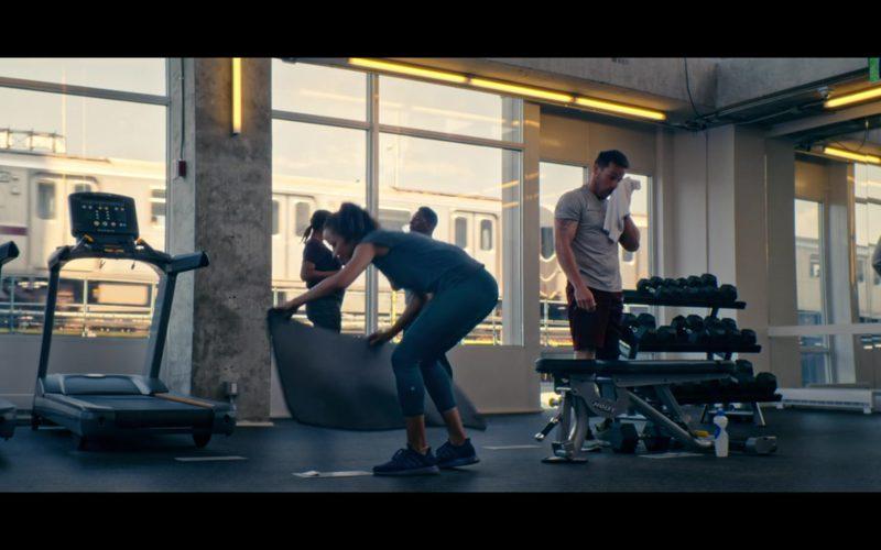 Adidas Women's Blue Sneakers Worn by Dania Ramirez (Hannah) in Tell Me A Story (1)