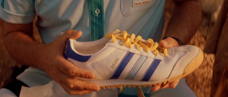 Adidas Team Zissou Shoes in The Life Aquatic with Steve Zissou (2004) - Movie Product Placement