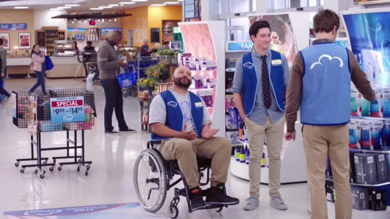 Air Jordan Black Sneakers Worn by Colton Dunn in Superstore: Maternity Leave (2018) - TV Show Product Placement