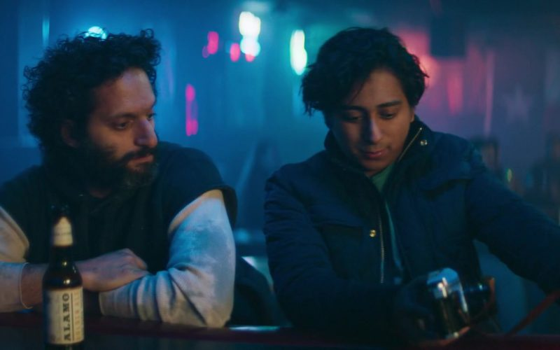 Alamo Beer Drunk by Jason Mantzoukas in The Long Dumb Road (1)