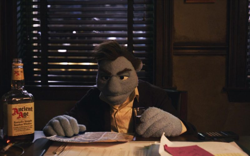 Ancient Age Bourbon Whiskey in The Happytime Murders (5)