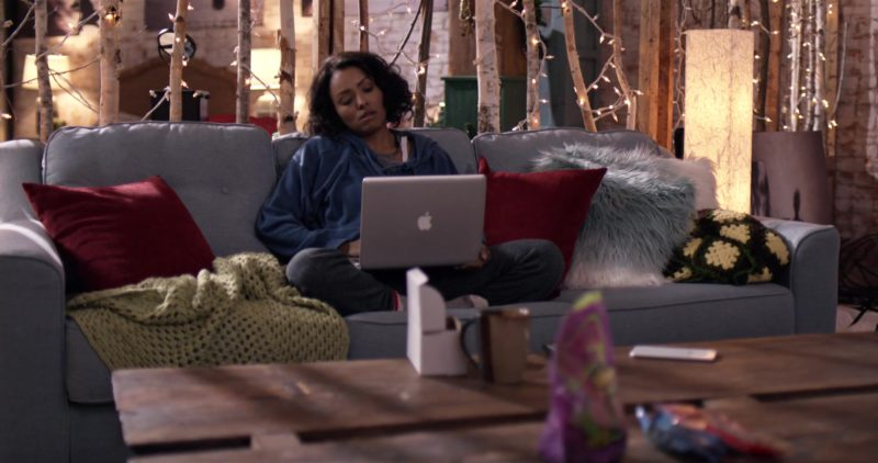 Apple MacBook Pro Laptop Used by Kat Graham in The Holiday Calendar (2018) - Movie Product Placement