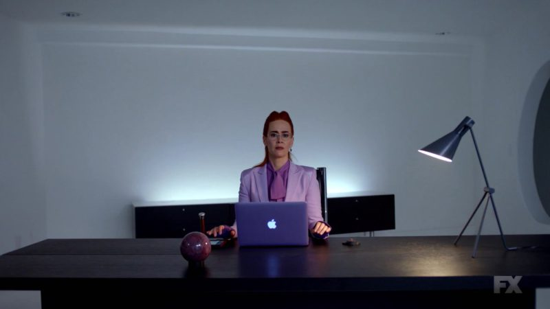 Apple MacBook Pro Laptop Used by Sarah Paulson in American Horror Story Season 8 Episode 10: Apocalypse Then (2018) TV Show Product Placement